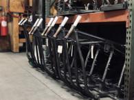 PAUGHCO Custom Harley Frame - Fits Panhead/Shovelhead/EVO Engines - S130