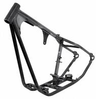 PAUGHCO Custom Harley Frame - Fits Shovelhead / EVO Engines - 140-24B