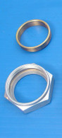 """PAUGHCO Intake Manifold nut & Brass Seal kit - Suit 1940 - 1954 OHV 61"""" And 74"""" Engines"""
