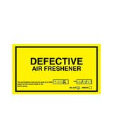 Defect Notice Air Freshener - Black Ice Scented