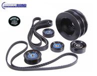 POWERBOND VE-VF LS2/LS3/LSA 10% Overdrive Balancer Pulley Kit - 8 Rib