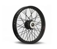 """TLG 40-Spoke Narrowglide Wheel - Suits HD Sportster/Dyna - 23"""" x 3.5"""" BLACK"""