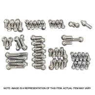 PROFLOW Stainless 12pt Engine Accessory Bolt Kit - Chevrolet Small Block