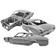 DYNACORN Complete Body Shell - Ford Mustang Fastback 1967