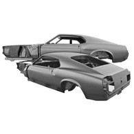 DYNACORN Complete Body Shell - Ford Mustang Fastback 1970