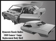DYNACORN Complete Body Shell - Chevrolet Camaro 1969