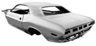 DYNACORN Complete Body Shell - Dodge Challenger 1970