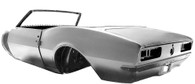 DYNACORN Complete Body Shell - Chevrolet Camaro 1967 Convertible