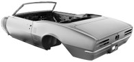 DYNACORN Complete Body Shell - Pontiac Firebird 1967 Convertible