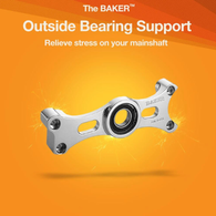 BAKER Harley Transmission Outer Bearing Support