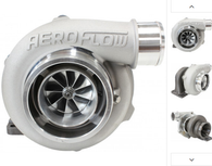 AEROFLOW BOOSTED 5855 .63 Turbocharger 400-750HP Rating - Natural Cast Finish