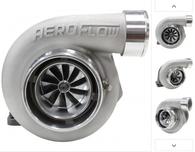 AEROFLOW BOOSTED 6662 .82 Turbocharger 450-850HP Rating - Natural Cast Finish