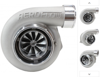 AEROFLOW BOOSTED 6662 1.01 V-BAND Turbocharger 450-850HP Rating - Natural Cast Finish