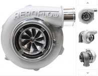 AEROFLOW BOOSTED 5855 .83 Turbocharger 400-750HP Rating - Natural Cast Finish