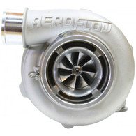 AEROFLOW BOOSTED 5455 .83 Turbocharger 340-650HP Rating - Natural Cast Finish REVERSE ROTATION