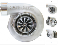 AEROFLOW BOOSTED 6762 .82 Turbocharger 550-1000HP Rating - Natural Cast Finish REVERSE ROTATION