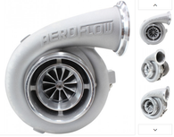 AEROFLOW BOOSTED 7075 1.15 Turbocharger 475-950HP Rating - Natural Cast Finish