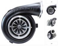 AEROFLOW BOOSTED 8077 1.15 Turbocharger 700-1250HP Rating - Hi Temp Black Finish