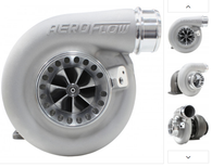 AEROFLOW BOOSTED 6973 .91 T4 Turbocharger 500-875HP Rating - Natural Cast Finish