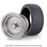 """STREET PRO Auto Drag Wheel & Tyre Package - 2x M/T SS Radial up to 295 with 15x10 4.5"""" BS Wheel - GM"""