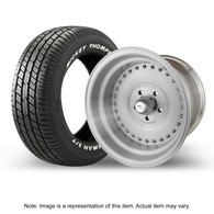 """STREET PRO Auto Drag Wheel & Tyre Package - 2x M/T ST Radial up to 225 with 15x6 3.5"""" BS Wheel - GM"""