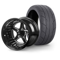 """STREET PRO II Wheel & Tyre Package - 2x M/T SR Radial up to 295 with 15x10 4.5"""" BS Wheel - FORD"""