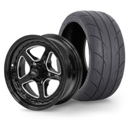 "STREET PRO II Wheel & Tyre Package - 2x M/T SR Radial up to 245 with 15x7 3.5"" BS Wheel - GM"