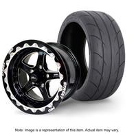 "STREET PRO II Wheel & Tyre Package - 2x M/T SR Radial up to 295 with 15x10 4.5"" BS BEADLOCK Wheel - GM"