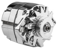 PROFLOW 100A Chrome Alternator GM 1 Wire / Internal Regulator