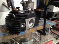LE Race Series Ported Harley Davidson Twin Cam Cylinder Heads