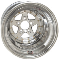 WELD RACING Alumastar - 15x10 Polished 5X4.5'' Bolt Pattern 3'' Backspace