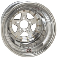 WELD RACING Alumastar - 15x10 Polished 5X4.5'' Bolt Pattern 4'' Backspace