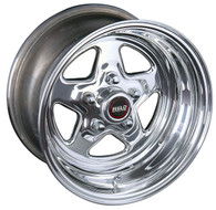 WELD RACING 15X10'' Polished Prostar 5X4.5'' Bolt Pattern 4.5'' Backspace