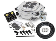 HOLLEY Sniper EFI Self-Tuning Fuel Injection System (Master Kit) - POLISHED