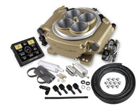 HOLLEY Sniper EFI Self-Tuning Fuel Injection System (Master Kit) - GOLD