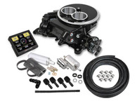 HOLLEY Sniper EFI Self-Tuning Fuel Injection System (2BBL Master Kit) - BLACK