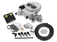 HOLLEY Sniper EFI Self-Tuning Fuel Injection System (2BBL Master Kit) - POLISHED