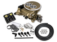 HOLLEY Sniper EFI Self-Tuning Fuel Injection System (2BBL Master Kit) - GOLD