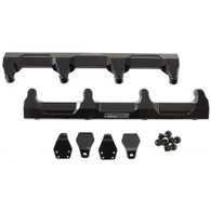 AEROFLOW Billet EFI Fuel Rails - Suit GM LSA Supercharged - BLACK