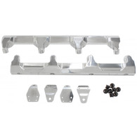 AEROFLOW Billet EFI Fuel Rails - Suit GM LSA Supercharged - POLISHED