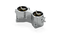 HYPER DCOE Throttle Body - Billet Aluminum 44mm Bore
