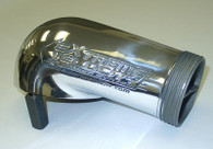 EXTREME VELOCITY Polished Aluminium 4150 Series O-Ringed Carb Hat