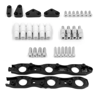 Franklin Eng. VR38 Coil Conversion Brackets Suit Nissan RB Neo - BLACK