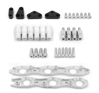 Franklin Eng. VR38 Coil Conversion Brackets Suit Nissan RB Neo - SILVER