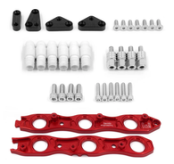 Franklin Eng. VR38 Coil Conversion Brackets Suit Nissan RB Neo - RED