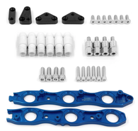 Franklin Eng. VR38 Coil Conversion Brackets Suit Nissan RB Neo - BLUE