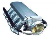 TLG GM LS1/2 Cathedral Port Sheet Metal Intake & 92mm T/B - SILVER