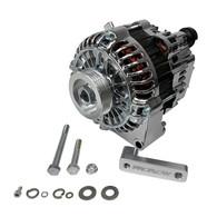 PROFLOW Nissan RB20/RB25/RB26/RB30 140amp Alternator Conversion Kit - Chrome