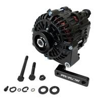 PROFLOW Nissan RB20/RB25/RB26/RB30 140amp Alternator Conversion Kit - Black