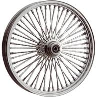 "ATTITUDE INC Chrome Max Spoke Wheel - Suits Harley - 26"" x 3.5"" SINGLE DISC - 3/4"" Axle"